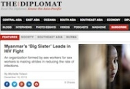 screen shot of The Diplomat featuring article about AMA