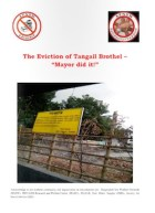 """Thumbnail of front cover of the report on the eviction of Tangail brothel - """"Mayor did it!"""""""