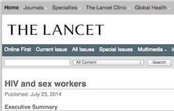 thumbnail of The Lancet website