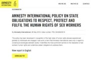 thumbnail of Amnesty policy announcement