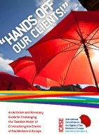 "thumbnail image of front cover of report titled ""Hands off our Clients!"""
