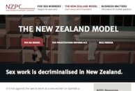 thumbnail of NZPC website page on decriminalisation
