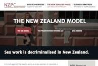 thumbnail of NZPC website page on decriminalisation