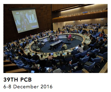 photo of the 39th UNAIDS PCB meeting